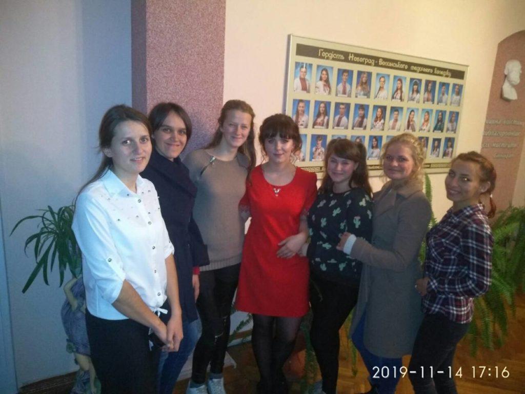 У Новоград-Волинському медколеджі відбувся конкурс «Студент року-2019», фото-8